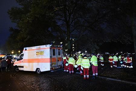 Chùm ảnh nước Đức báo động vì bị đe dọa khủng bố - ảnh 15