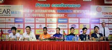 Giải U21 quốc tế báo Thanh Niên: Điểm binh trước giờ bóng lăn - ảnh 2
