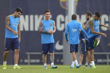 Messi trở lại, bộ ba M-S-N khiến Rafa đau đầu - ảnh 1