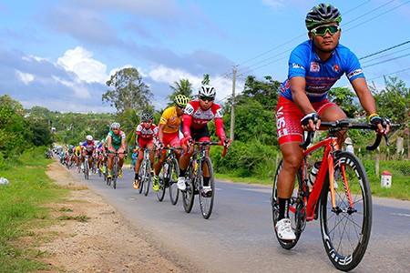 Kết thúc giải xe đạp Nam Kỳ Khởi Nghĩa: Áo vàng bị dẫn nhầm lộ trình - ảnh 2