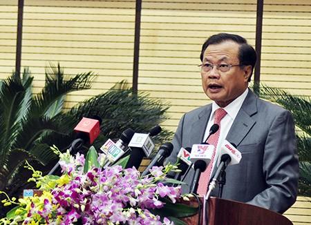 Thành ủy Hà Nội chỉ giới thiệu Tướng Chung ứng cử chủ tịch TP - ảnh 1