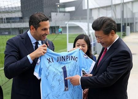 Chủ tịch Tập Cận Bình và giấc mơ World Cup - ảnh 3