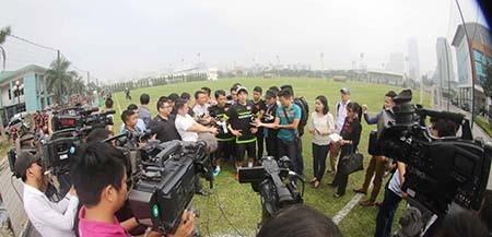 Buổi tập đầu tiên của U-23 Việt Nam: Công Phượng lập hat-trick - ảnh 12