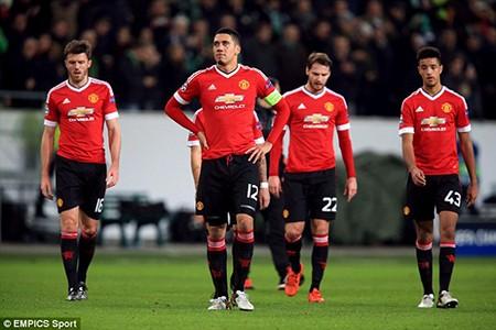 Bị loại khỏi Champions League, Man United đổ lỗi cho… phòng thay đồ - ảnh 1