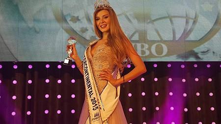 Hà Thu đoạt giải Thí sinh được yêu thích nhất ở Miss Intercontinental - ảnh 2
