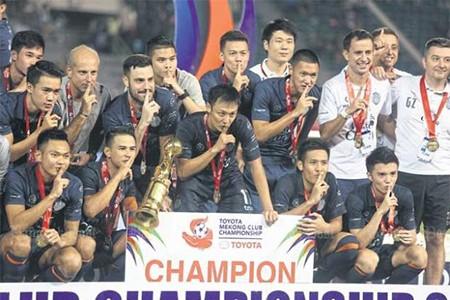 Buriram Utd vô địch Toyota Mekong Cup - ảnh 1