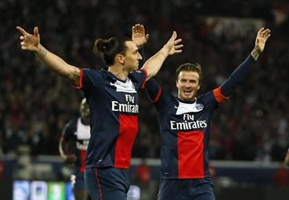 Beckham 'săn' Ibrahimovic - ảnh 1