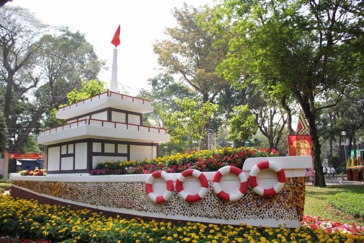 TP.HCM tổ chức hơn 100 chợ hoa tết Bính Thân - ảnh 1