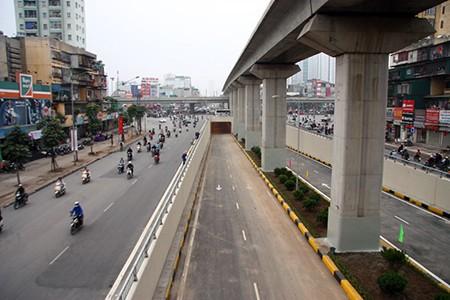 Cận cảnh hầm chui Thanh Xuân và Trung Hòa trước ngày thông xe - ảnh 15