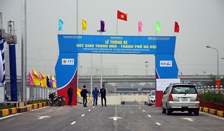 Cận cảnh hầm chui Thanh Xuân và Trung Hòa trước ngày thông xe - ảnh 2