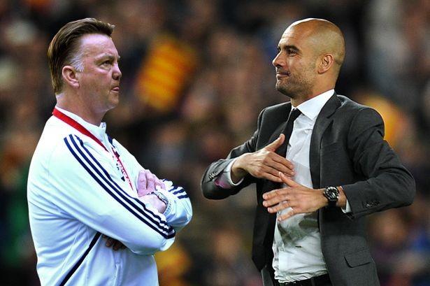 Van Gaal mạnh miệng tuyên bố không sợ Pep Guardiola - ảnh 1