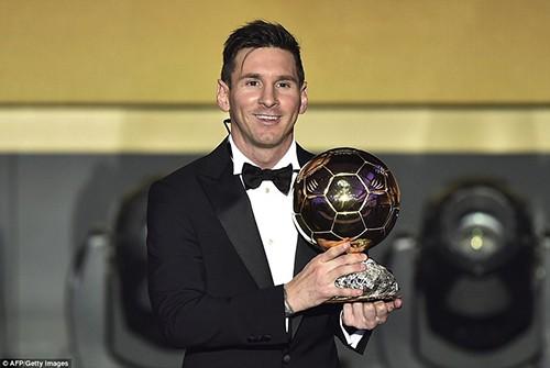 Messi lần thứ 5 giành Quả bóng vàng FIFA 2015, hụt giải Puskas - ảnh 2