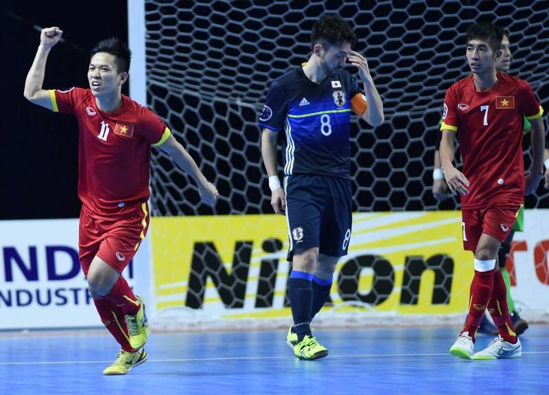 Kỳ tích: Hạ gục Nhật Bản, Futsal Việt Nam giành vé dự World Cup - ảnh 1