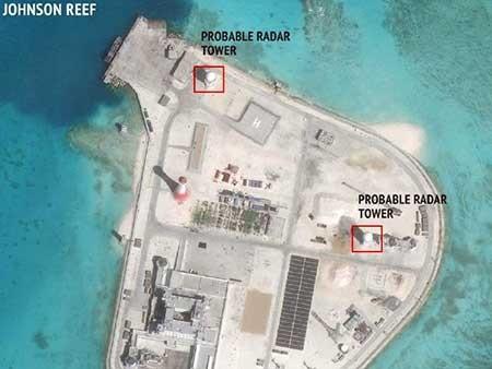 Trung Quốc xây radar ở bốn đảo - ảnh 1