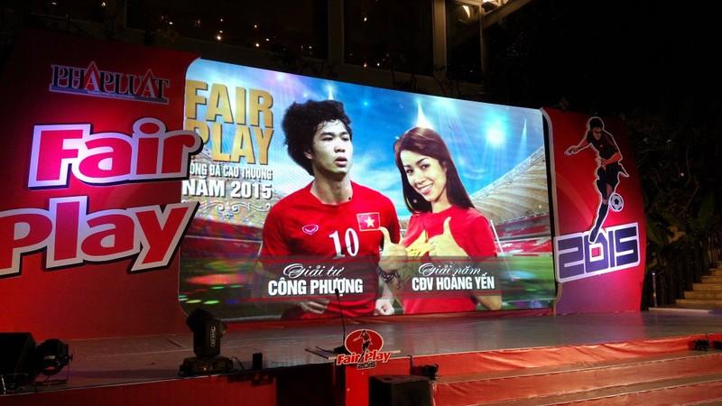 Abass Dieng đăng quang giải Fair Play 2015 - ảnh 6