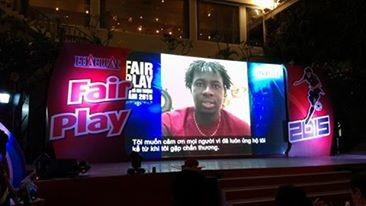 Abass Dieng đăng quang giải Fair Play 2015 - ảnh 3