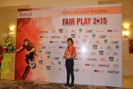 Abass Dieng đăng quang giải Fair Play 2015 - ảnh 28