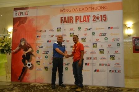 Abass Dieng đăng quang giải Fair Play 2015 - ảnh 23