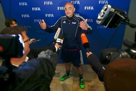 Tân chủ tịch FIFA săn tìm người tài - ảnh 1