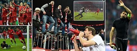 Bayern ngược dòng không tưởng loại Juventus, Barca thắng dễ Arsenal - ảnh 2