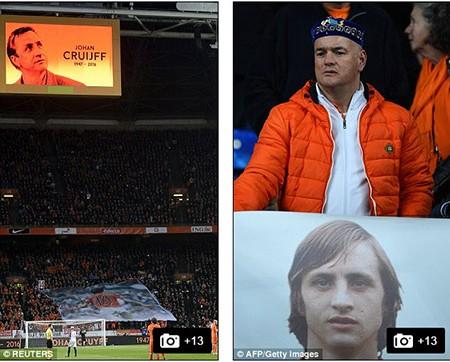 Xúc động buổi lễ tưởng niệm 'thánh' Johan Cruyff - ảnh 7
