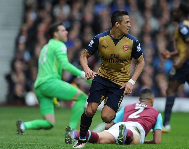 West Ham 3-3 Arsenal: Kịch tính! - ảnh 1