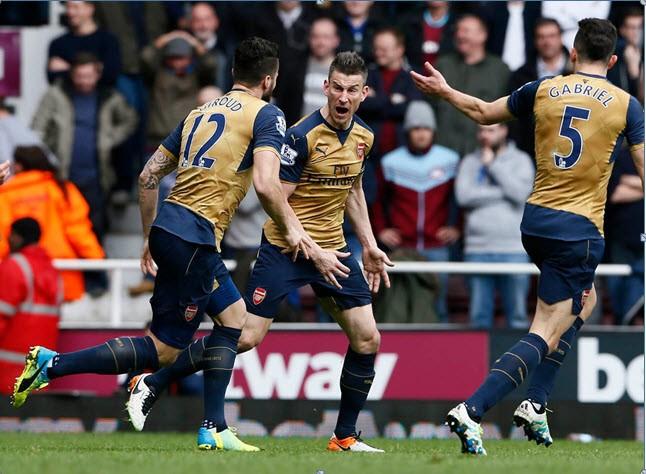 West Ham 3-3 Arsenal: Kịch tính! - ảnh 3