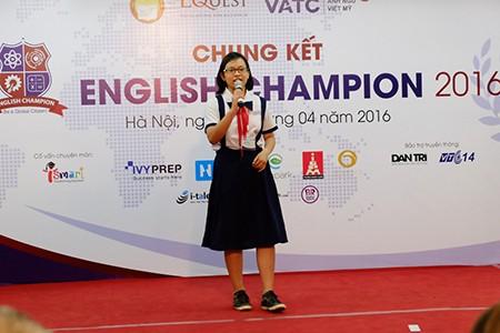 Hai thí sinh TP.HCM vô địch English Champion 2016 - ảnh 3