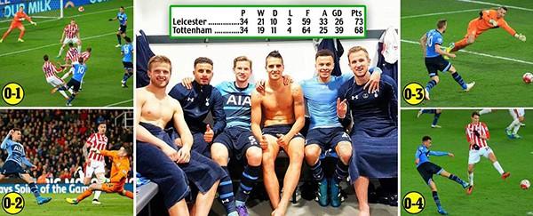 Hủy diệt Stoke City, Tottenham áp sát Leicester City - ảnh 1
