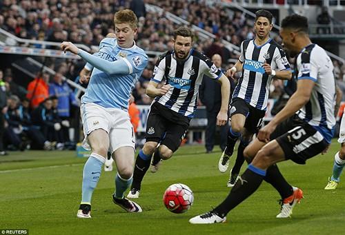 Newcastle United 1-1 Man. City: Ghìm nhau cùng 'chết'! - ảnh 2