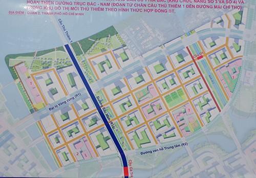 Ký kết hợp đồng xây dựng đường trục Bắc-Nam ở Thủ Thiêm - ảnh 2