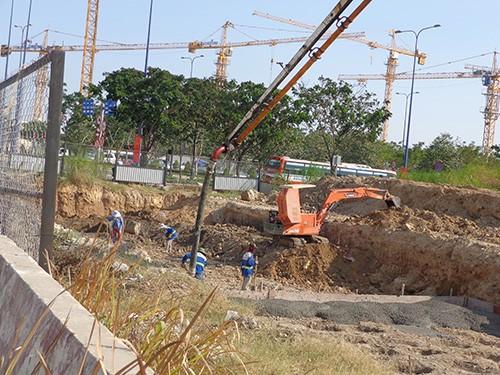 Ký kết hợp đồng xây dựng đường trục Bắc-Nam ở Thủ Thiêm - ảnh 4