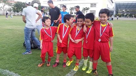 Borussia Dortmund ấn tượng với tài năng 8 tuổi của trường Lương Thế Vinh - ảnh 4