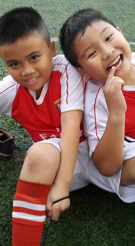 Borussia Dortmund ấn tượng với tài năng 8 tuổi của trường Lương Thế Vinh - ảnh 9