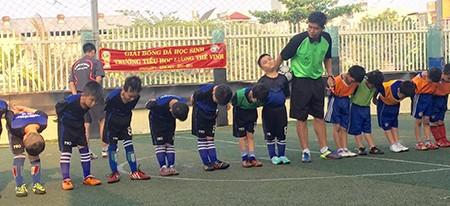 Borussia Dortmund ấn tượng với tài năng 8 tuổi của trường Lương Thế Vinh - ảnh 10