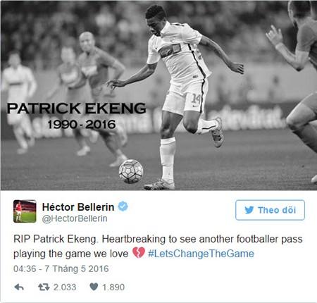 Bóng đá thế giới rúng động sau cái chết của Ekeng - ảnh 5