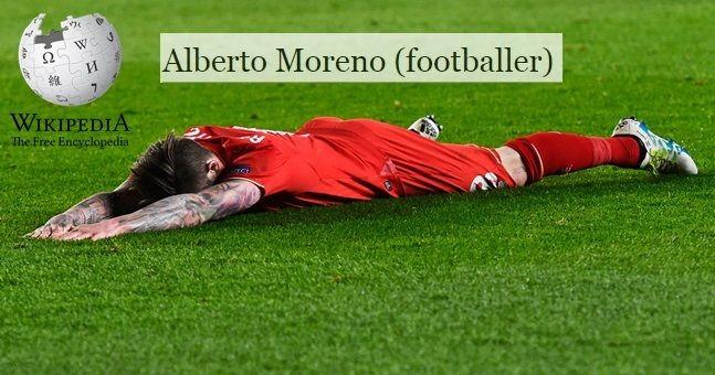 Chết cười với màn sửa lý lịch 'tội đồ' Moreno của CĐV Liverpool - ảnh 1