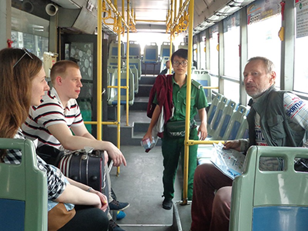 Thêm tuyến xe buýt từ sân bay Tân Sơn Nhất vào trung tâm TP - ảnh 5