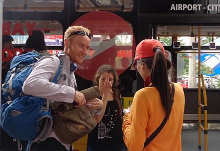 Thêm tuyến xe buýt từ sân bay Tân Sơn Nhất vào trung tâm TP - ảnh 6