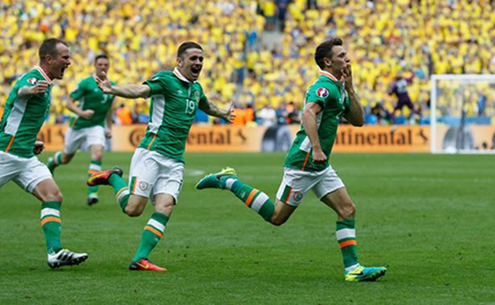 Thụy Điển 1-1 Ireland: Chia điểm! - ảnh 1
