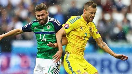 Ukraine 0-2 Bắc Ireland: Điều kỳ diệu của đoàn quân xanh - ảnh 1