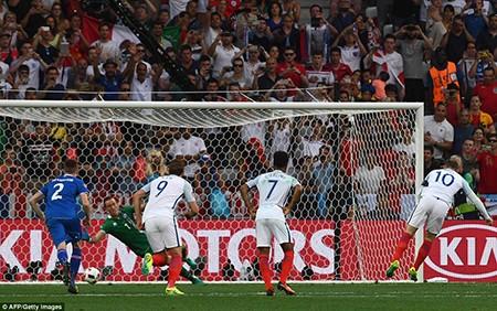 Thua ngược Iceland, tuyển Anh cúi đầu rời Euro - ảnh 1