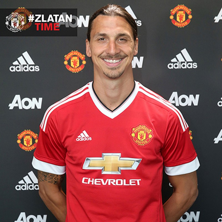 Zlatan Ibrahimovic chính thức gia nhập Manchester United - ảnh 1
