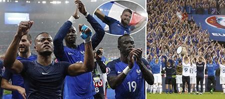 Thắng 'hủy diệt' Iceland, Pháp hẹn Đức ở bán kết Euro 2016 - ảnh 1