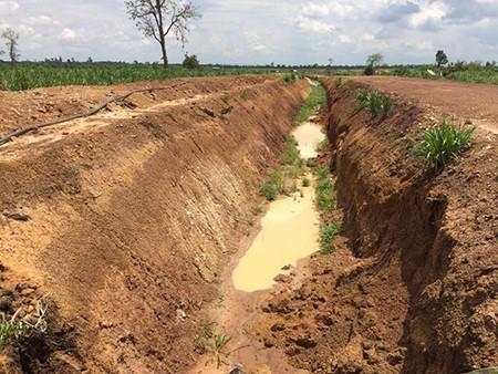 Đào hào ngăn voi rừng, doanh nghiệp bị phạt 50 triệu đồng - ảnh 1