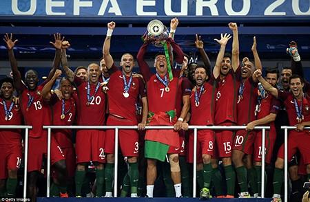 Ronaldo bật khóc, Eder hóa người hùng, Bồ Đào Nha vô địch Euro 2016 - ảnh 13