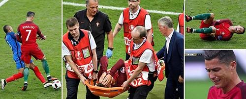 Ronaldo bật khóc, Eder hóa người hùng, Bồ Đào Nha vô địch Euro 2016 - ảnh 3
