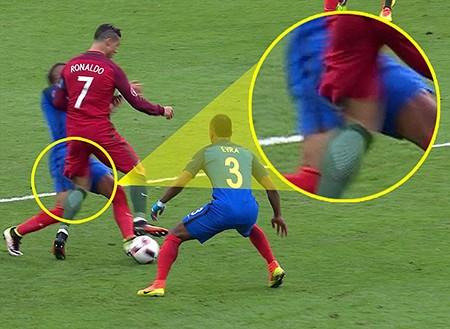 Ronaldo 3 lần bật khóc trong trận chung kết Euro 2016 - ảnh 3