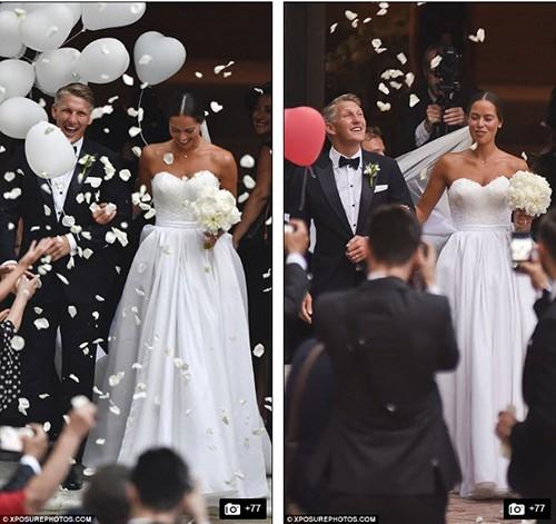 Chùm ảnh đội trưởng tuyển Đức kết hôn với mỹ nhân làng quần vợt - ảnh 3
