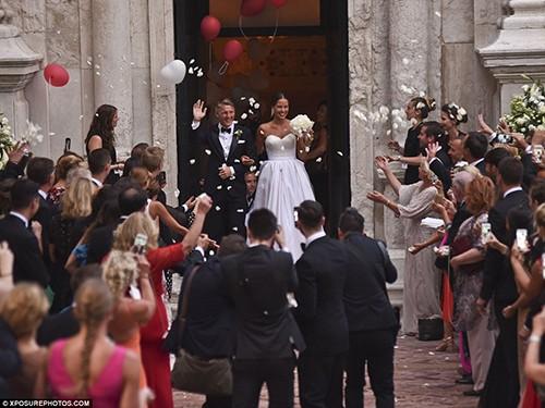 Chùm ảnh đội trưởng tuyển Đức kết hôn với mỹ nhân làng quần vợt - ảnh 5